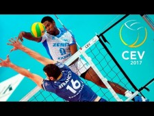 TOP 10 Best Volleyball Attacks Over The Line | Line Spike