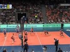 Berlin Volleys great action (Berlin - Moscow)