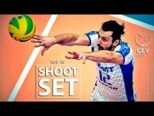 TOP 10 Shoot Set | CEV 2017 | Crazy Moments | Volleyball 201