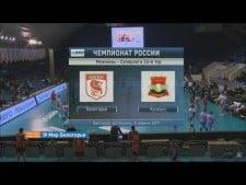 Belogorie Belgorod - Kuzbass Kemerovo (full match)