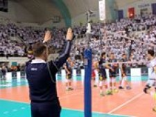 Last point (Tours VB - Trentino Volley)