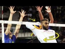 Top 10 no look spikes 180° by Earvin N'Gapeth