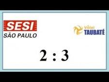Sesi Sao Paulo - Funvic/Taubaté (Highlights)