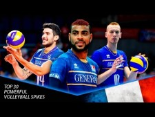 TOP 30 Powerful Volleyball Spikes