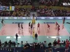Christenson & Sokolov great action (Perugia - Macerata)