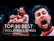 TOP 30 Powerful Volleyball Spikes | Poland Volleyball Player