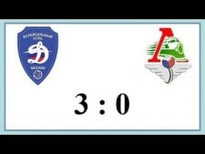 Dynamo Moscow - Lokomotiv Novosibirsk (Highlights)