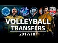 TOP 10 NEW Volleyball Transfers 2017/18