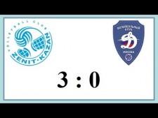 Zenit Kazan - Dynamo Moscow (Highlights)