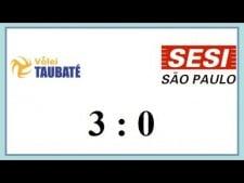 Funvic/Taubaté - Sesi Sao Paulo (Highlights)