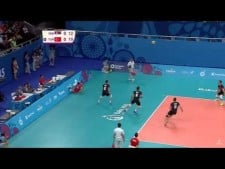 Burak Mert great action (Serbia - Turkey)