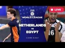 Netherlands - Egypt (full match)