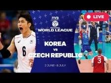 South Korea - Czech Republic (full match)