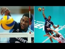 TOP 15 Best volleyball Spikes by Wilfredo Leon