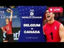 Belgium - Canada (full match)