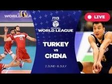 Turkey - China (full match)