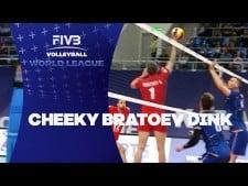 Georgi Bratoev great action (France - Bulgaria)