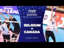 Belgium - Canada (short cut)