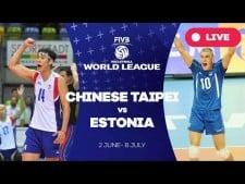 Chinese Taipei - Estonia (full match)
