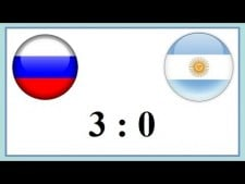 Russia - Argentina (Highlights)