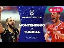 Montenegro - Tunisia (full match)