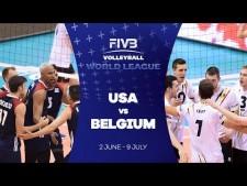 USA - Belgium (short cut)