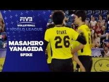 Masahiro Yanagida amazing spike (Japan - Portugal)