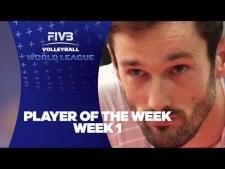 Julien Lyneel in World League 2017 (Week 1)