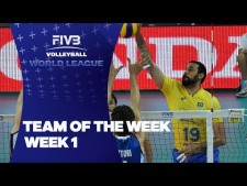 Best players in World League 2017 (Week 1)