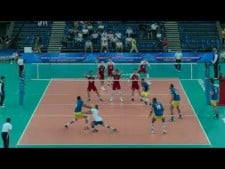 Aleksander Śliwka in match Brazil - Poland