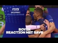 Stephen Boyer reaction net save