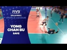 Yong-Chan Bu amazing dig (Czech Republic - South Korea)