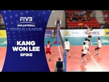 Kang-Won Lee spike (Czech Republic - South Korea)