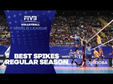 Best spikes - World League 2017 Intercontinental Round