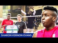 Sharone Vernon-Evans in World League 2017