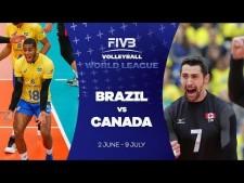 Brazil - Canada (short cut)
