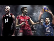 Top 50 Best Volleyball Spikes in World League 2017