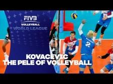 Uroš Kovačević amazing leg dig (Serbia - USA)