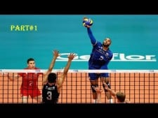 TOP10 Best Spikes in World League 2017 (PART1)