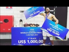 Earvin N'Gapeth in World League 2017 Final Six (3rd movie)