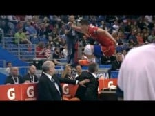 Volleyball Digs in World League 2016-2017