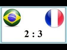 Brazil - France (Highlights)