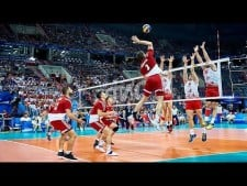 TOP 10 Technical Volleyball Attacks