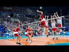 "TOP 10 Technical Volleyball Attacks (""Gentle Touch"")"