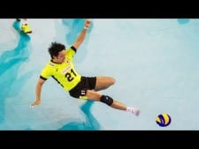 Japan volleyball digs in World League 2017