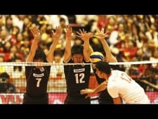 Japan volleyball blocks in World League 2017