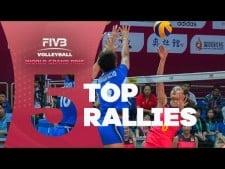 Top 5 Rallies - World Grand Prix 2017 - Week 1