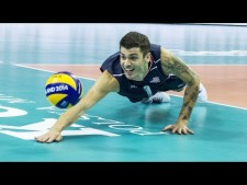 Volleyball DIGS Slow Motion | Volleyball Digs Highlights
