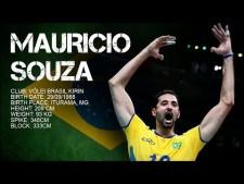 Mauricio Souza in World League 2017