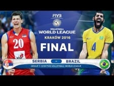 GOLD Collection Serbia v Brazil Final 2016